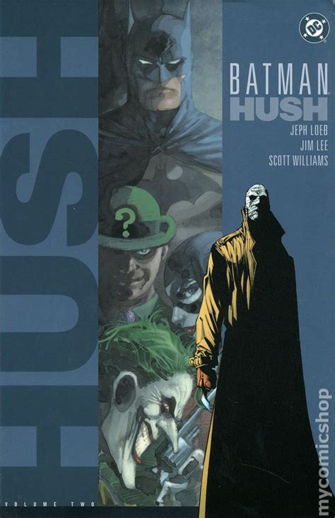 libro batman hc vol 10 batman hush hc 2003 dc comic books