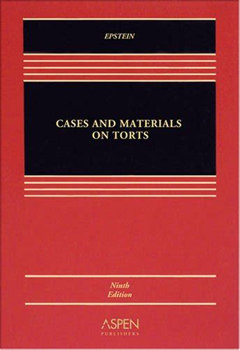 Pdf Torts Cases Materials Casebook cheapest copy of cases and materials on torts casebook