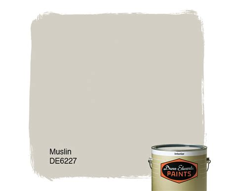 muslin de6227 dunn edwards paints