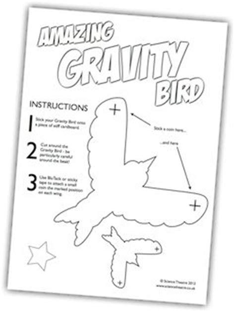 balancing bird template crafty pinterest