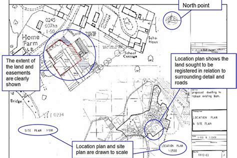 The Floor Plan Of A New Building Is Shown guidance for preparing plans for land registry