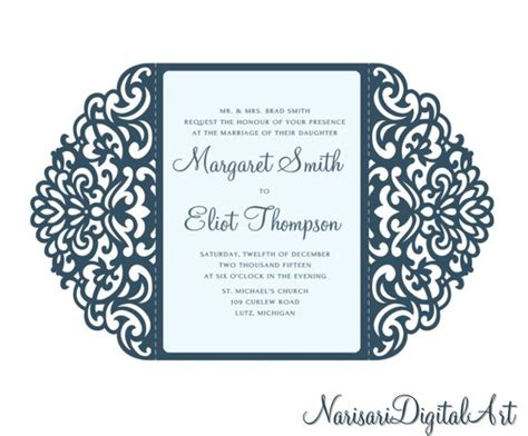 free wedding gate fold card template ornamental 5x7 gate fold wedding invitation card template