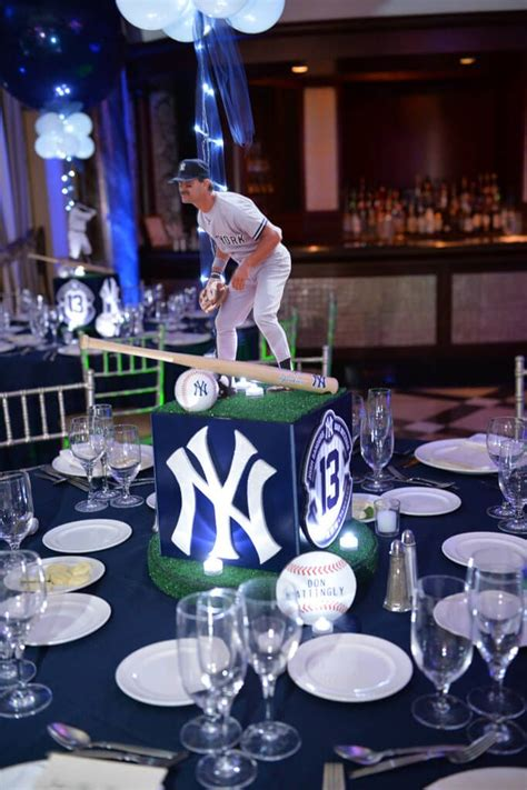 sports theme centerpieces 95 best sports themed centerpieces images on sports themed centerpieces bat mitzvah