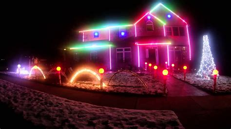 2013 christmas light show christmas vacation youtube