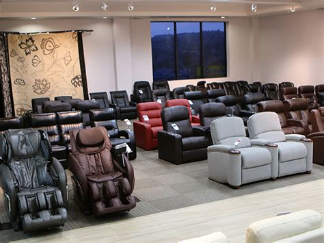 la movie theater with couches the largest home theater seating showroom in the los