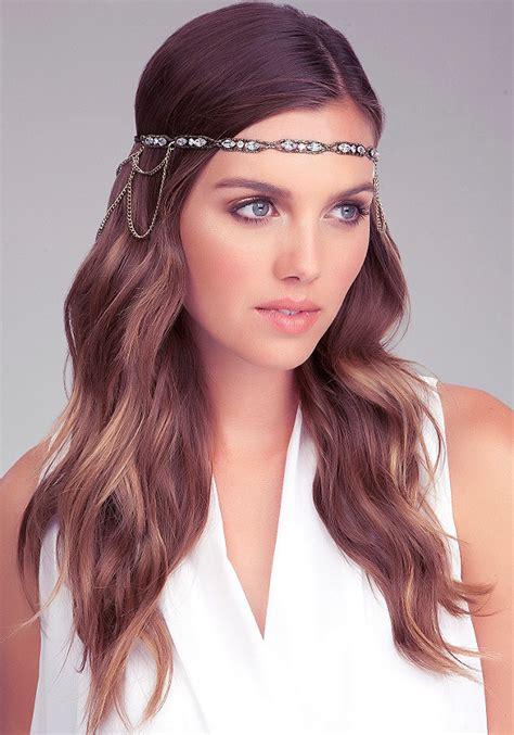 great gatsby long hairstyles women hair libs drape chain beaded headpiece jewelry all jewelry bebe