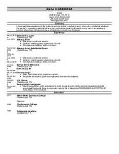 supervisor resume exle mr gladstone oregon