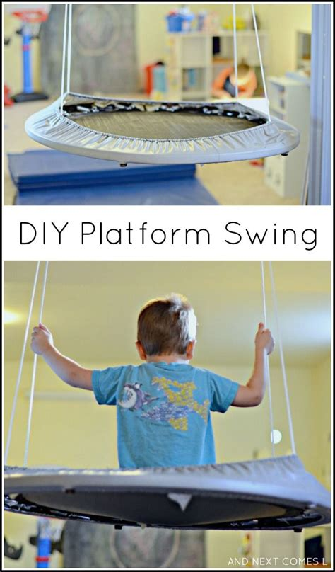 diy kids swing 17 best ideas about troline swing on pinterest