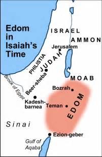 edom map 3 judgment upon the nations isaiah 13 23 isaiah
