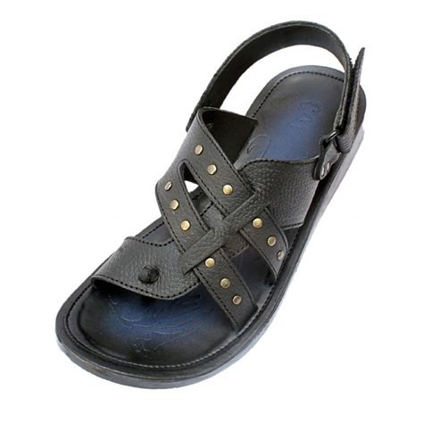 Sandal Fashion 6615 Cr black toe loop dotted style back sandal cr 5080