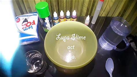 video membuat slime rainbow mencoba membuat rainbow slime dari lem fox benar salah