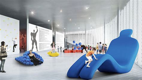 interactive interior design big to design museum of the human in awards