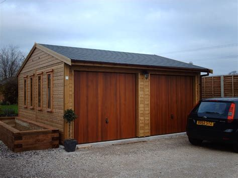 building a double garage with office annex above warwick garages garage building garden office stables