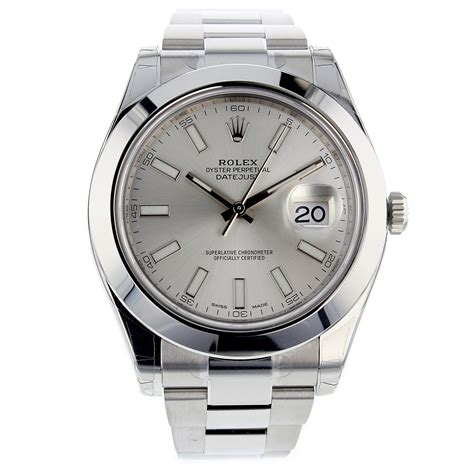 Rolex Silver rolex datejust ii silver stainless steel 41mm