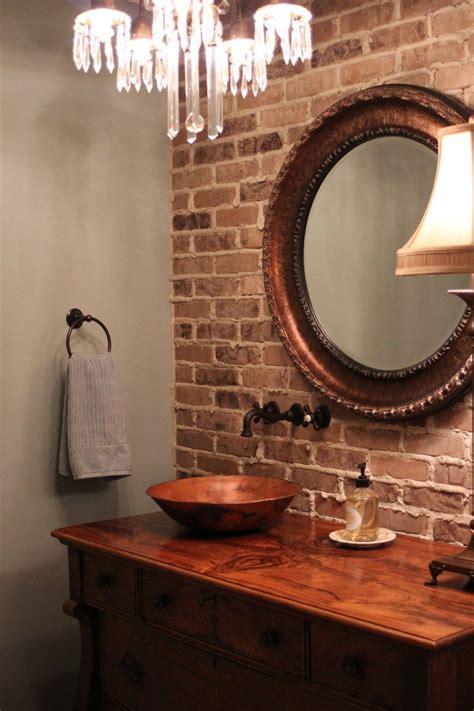 brick bathroom wall 17 best ideas about brick walls on pinterest faux brick