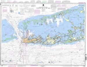 map of intracoastal waterway florida noaa chart 11446 intracoastal waterway sugarloaf key to