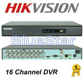 Dvr Hikvision Ds 7216 Hqhi K1 Hd Up To 3mp Termurah Garansi Resmi jual dvr hikvision ds 7216 hqhi f2 n 16 channel terjual