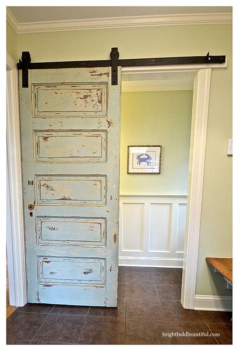 doors between kitchen and bathroom door to door 22 awesome door upcycles reuse old door as