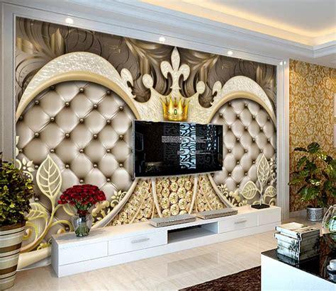 custom photo wallpaper  wall murals  crown diamond