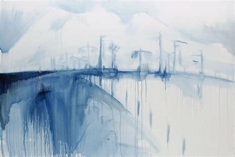 blue sketch ruapehu sketch in blue cairo walker