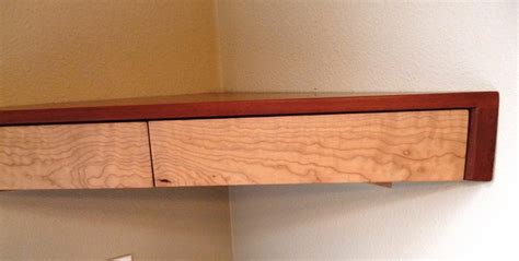 Floating Corner Shelf With Drawer by Floating Corner Shelf With Drawers Finewoodworking