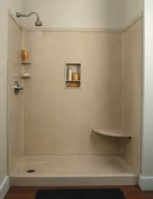 shower kit easy to install shower bases and kits homes and garden
