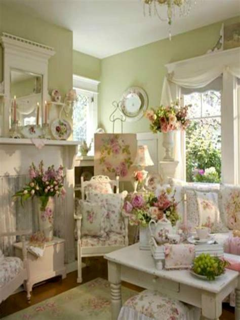 awesome cottage shabby chic decorating ideas 29 homedecort