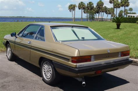 Lancia Gamma Coupe For Sale 1982 Lancia Gamma Coupe 2 5 Classic Italian Cars For Sale