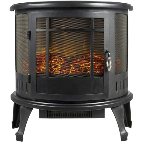 portable electric fireplace stove 1500w space heater