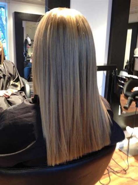 techniques showing how to cut a blunt haircut or bob haircut stylish long hair with blunt style cuts long hairstyles