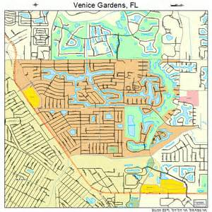 map venice florida area venice gardens florida map 1273950