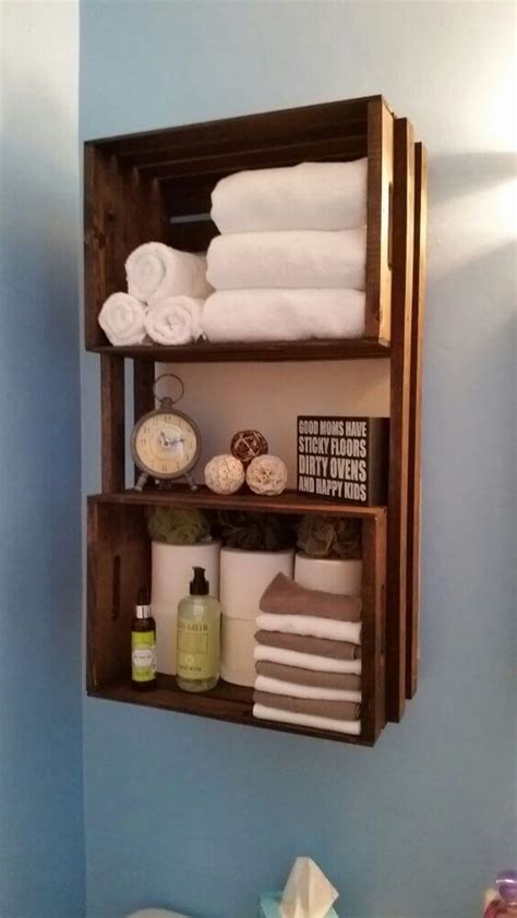 Bathroom Shelf Ideas by 25 Best Diy Bathroom Shelf Ideas And Designs For 2018