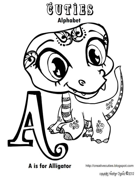 free coloring pages of shop drawing quirky artist loft cuties free animal coloring pages