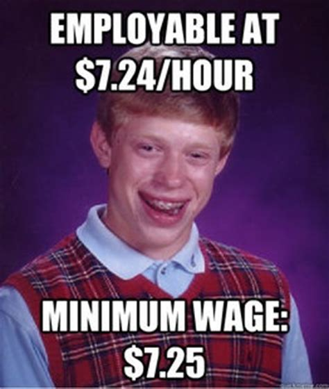 Minimum Wage Meme - pin by james tierney on econ memes pinterest