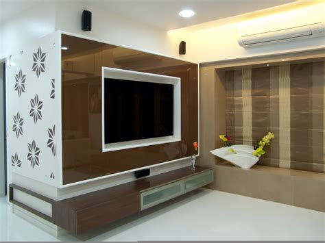 flat in mulund mumbai contemporary living room