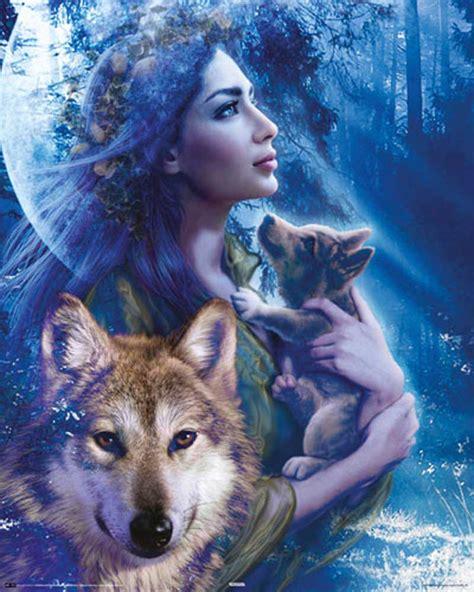 gothic moonlight brethren fantasy frau und wolf mini