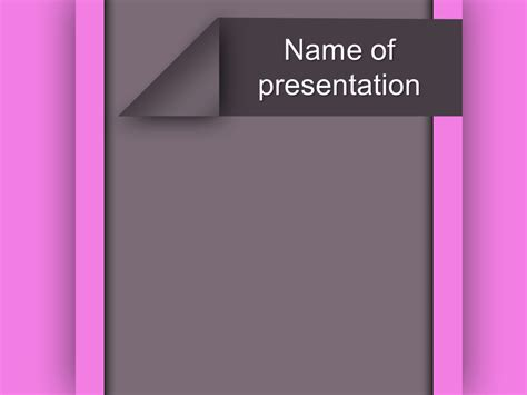powerpoint templates free purple purple bars powerpoint template for impressive