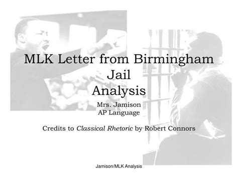 letter from birmingham analysis ppt mlk letter from birmingham analysis powerpoint 1362