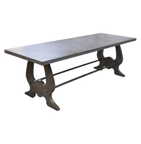 Industrial Style Dining Tables Verre Industrial Style Lute Iron Dining Table Kathy Kuo Home