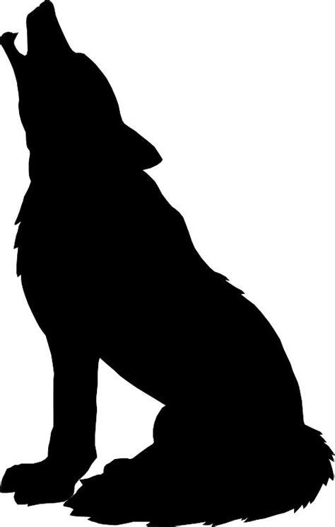 wolf silhouette by xxchantellexx d3czn9k png home deco
