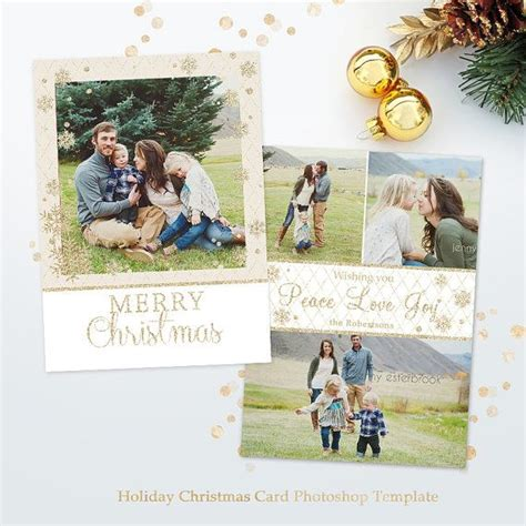 christmas templates for photoshop elements 48 best christmas cards templates for photographers images