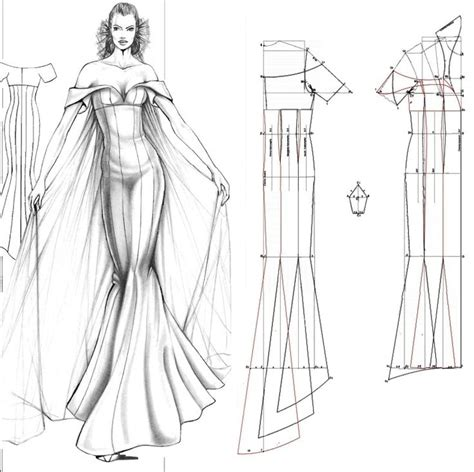 pattern making gown 25 best ideas about mermaid dress pattern on pinterest