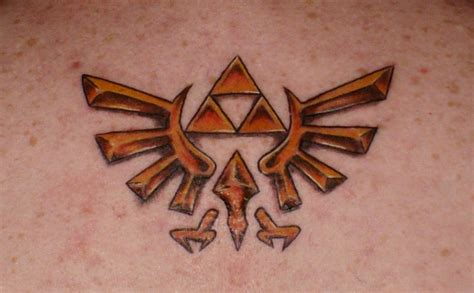 zelda triforce tattoo design triforce by ranas on deviantart