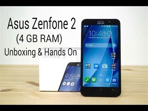 Zenphone 2 Ram 4gb asus zenphone 2 4 gb ram ze551ml unboxing on