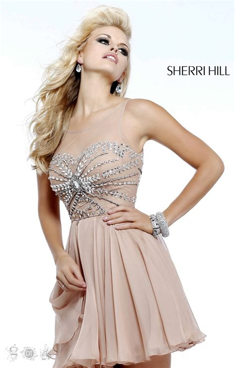 short hair sherri hill sherri hill 11034 short dress