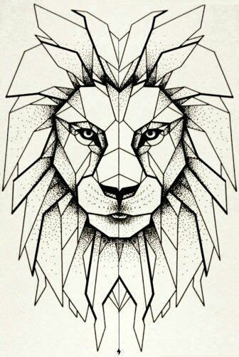 25 ideas geometric lion geometric lion tattoo lion forearm tattoos