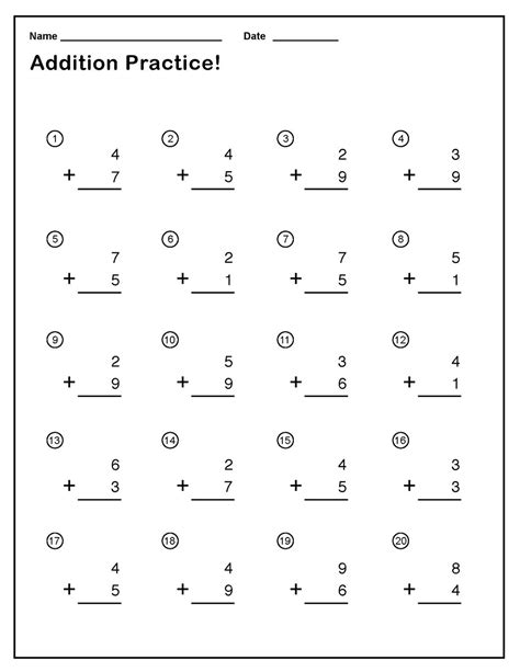 printable single digit division worksheets single digit addition worksheets with regrouping