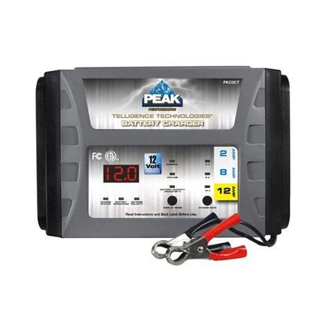 peak charger peak battery charger reconditioning mode battery never die
