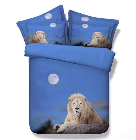 Sprei 3d Mulberry Kingqueen Size kopen wholesale leeuw dekbed uit china leeuw dekbed