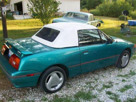 how to work on cars 1993 mercury capri navigation system buy used 1993 mercury capri xr2 convertible 2 door 1 6l in kane illinois united states